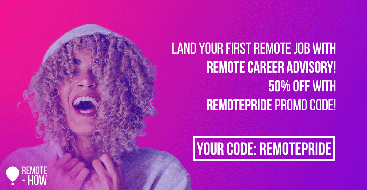 Struggling To Include More LGBT+ People? Remote Work Will Help!